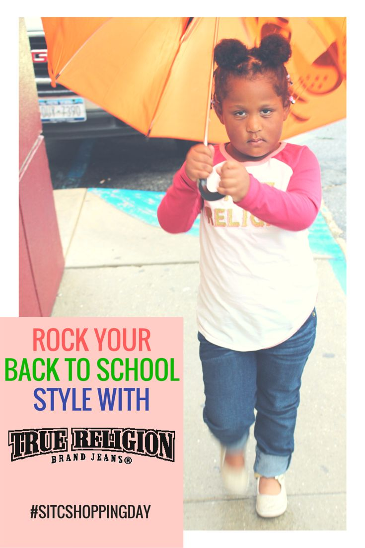 Rock your Back To School style with True Religion for Kids! #SITCShoppingDay #ToddlerFashion Fashion Fashionista review