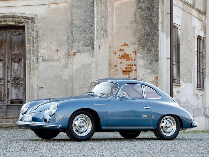1955 Porsche 356A Carrera Coupe.