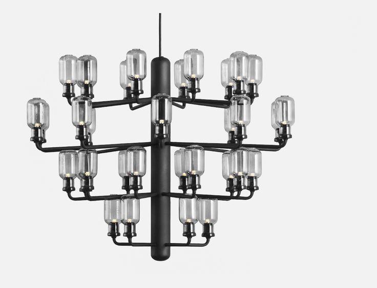 lampada a sospensione Amp Chandelier Normann Copenhagen di Simon Legald @normanncph