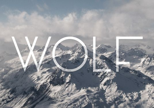 Free fonts Wolf