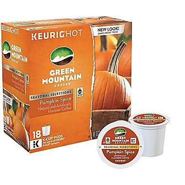 FREE 18-count Box of Green Mountain Pumpkin Spice K Cups - http://www.guide2free.com/food-and-drink/free-18-count-box-green-mountain-pumpkin-spice-k-cups/