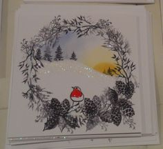 card-io christmas garden - Google Search