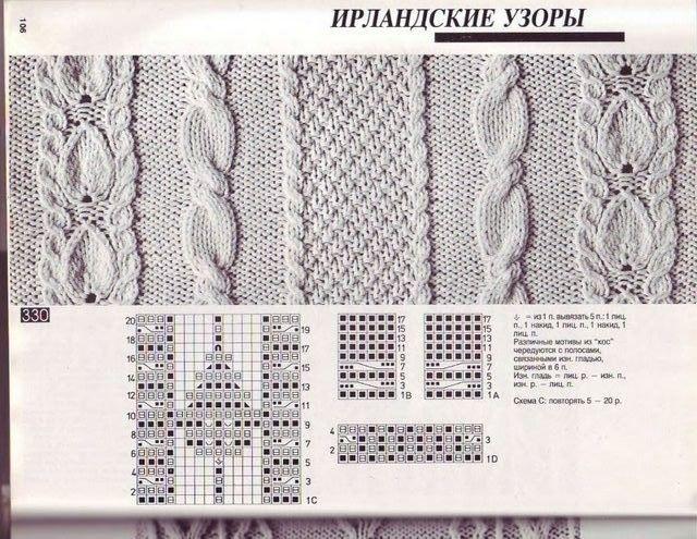 Узоры спицами, knit, knitting - Tatiana Alexeeva - Веб-альбомы Picasa
