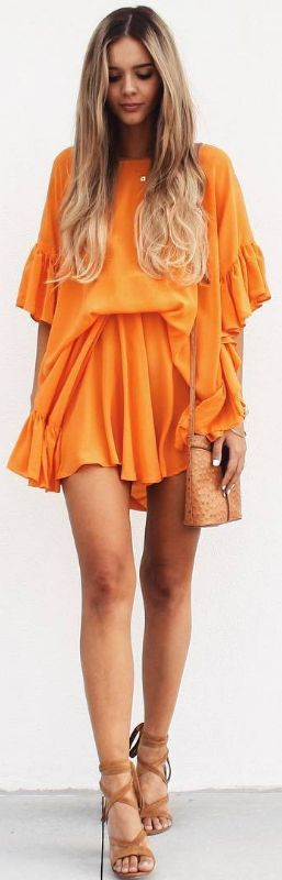 Oversized and mango -  Playsuit by @sistersthelabel /   Fashion look by Lydianna #fashion