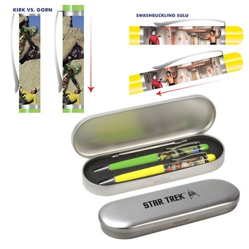 rogeriodemetrio.com: Star Trek: The Original Series Floating Pen