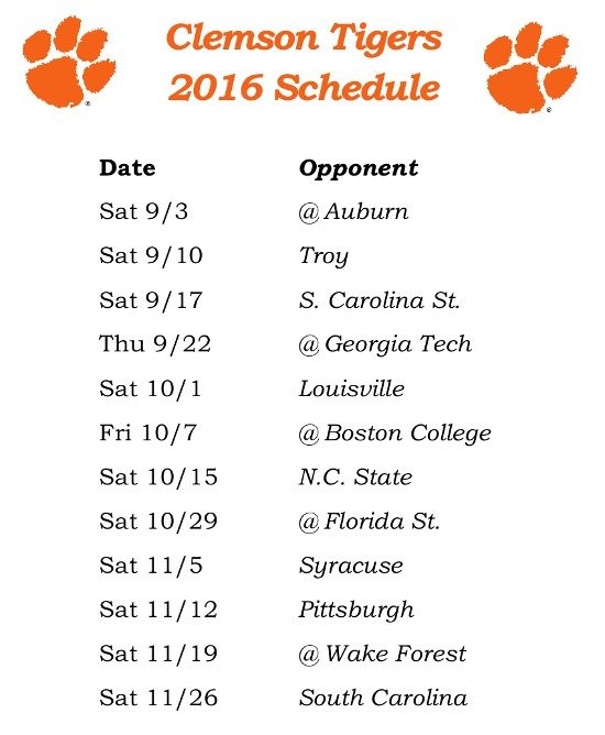 Clemson football live stream free, time, schedule, score and how to watch…