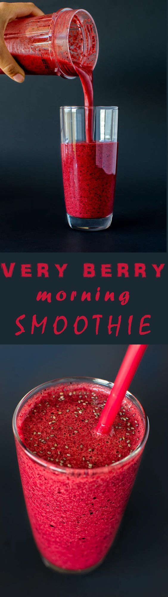 Perfect way to start your day! Banana, apple, cherries and black currants blended to perfection with orange juice. Yum!