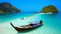 4 Island Tour by Traditional Longtail Boat from Krabi, Krabi, null
