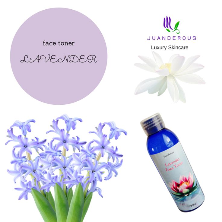 Lavender Face Toner - Vegan Product $20.00 Our wonderful Lavender Face Toner is made with natural lavender floral water to soothe the skin, and natural witch hazel water to remove excess oils and bacteria. Our toners are hydrating, and filled with active ingredients that treat and soothe your skin.