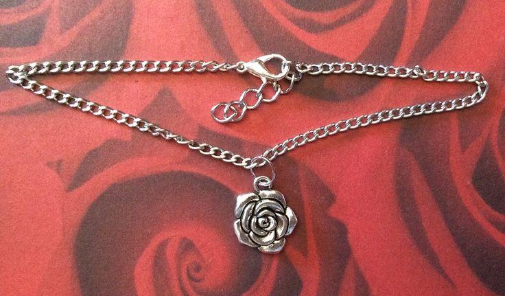 Pulseira para o pé. Disponível - http://magic-rose-bijou.shopmania.biz/catalog/pulseiras-2