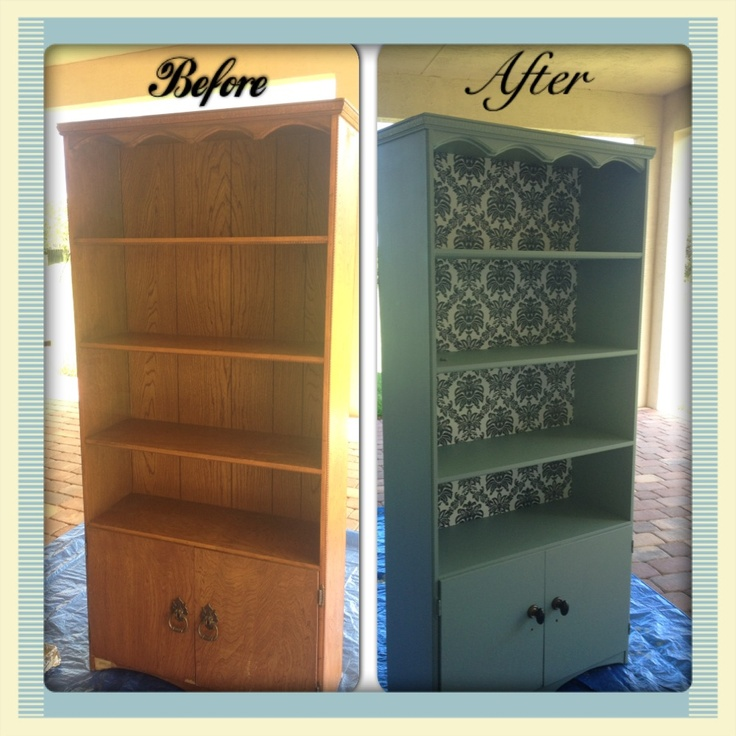Refurbished Bookshelf My Style Pinterest Refurbished