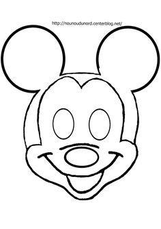 masque mickey d'autres modèles sur mon blog http://nounoudunord.centerblog.net/4209-masques-a-imprimer-classes-par-ordre-alphabetique