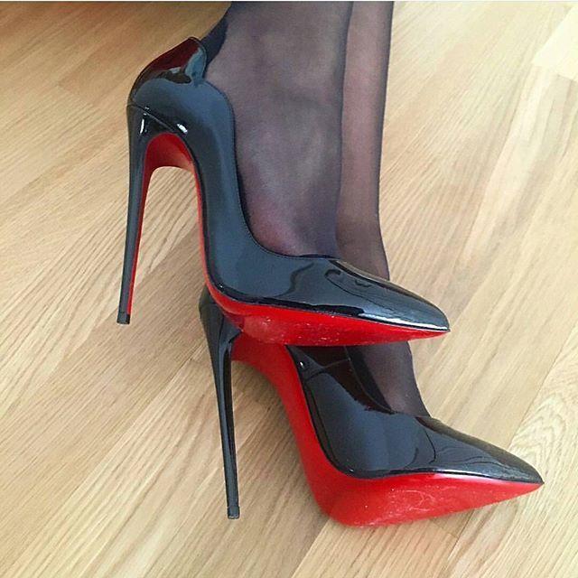 Beauty in hot heels
