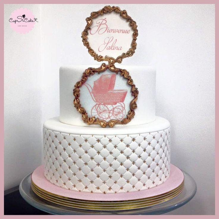 Ce gâteau à célébré l'arrivée de la petite Shakina