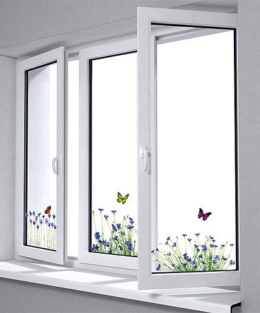 Another great find on #zulily! Spring Window Decals - Set of Six #zulilyfinds