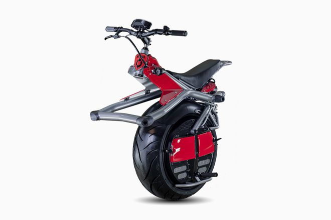 This One-Wheeled Electric Motorcycle Actually Feels … Safe   Gadget Lab   WIRED