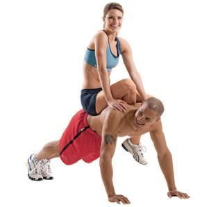 Exercises for couples: I just had a laughing fit imagining Alex and I attempting these