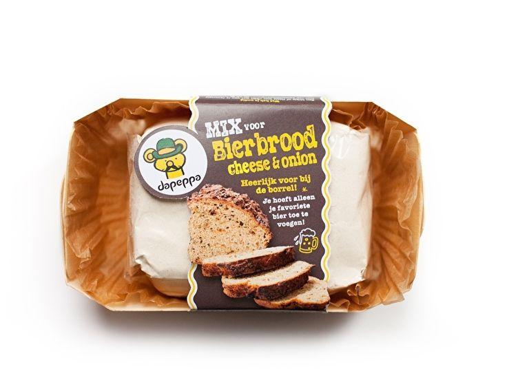 Dapeppa Bierbrood Cheese & Onion | Dapeppa (cadeau) koekjespotten en broden om zelf te bakken | De SmaakBeleving, keuze uit meer dan 1200 producten!