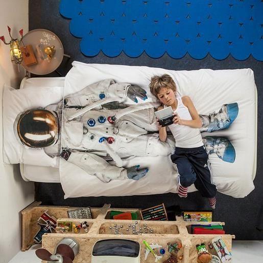 子供が男の子だったらこんなベッドカバーをプレゼントしたい