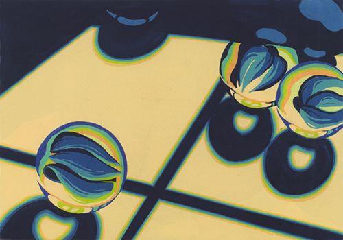 2014年度 多摩美術大学 劇場美術デザインコース 現役合格者再現作品:色彩構成