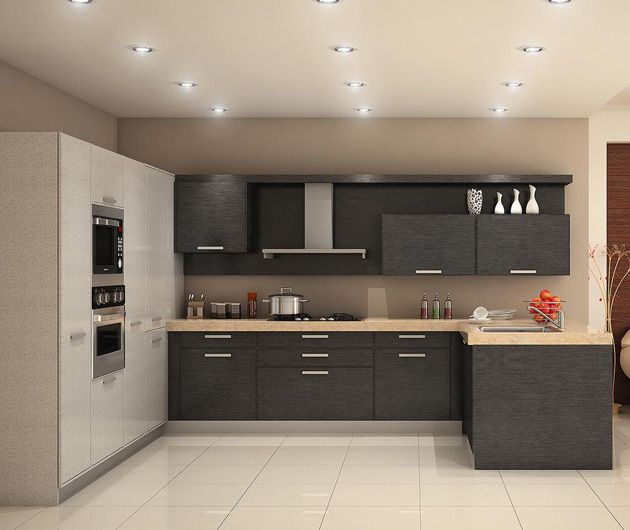 37 best kitchen images on Pinterest   Contemporary unit kitchens ...