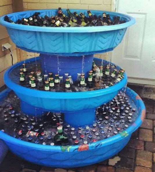 http://thehomesteadsurvival.com/3-level-iced-beverage-fountain-cooler-project-outdoor-party/