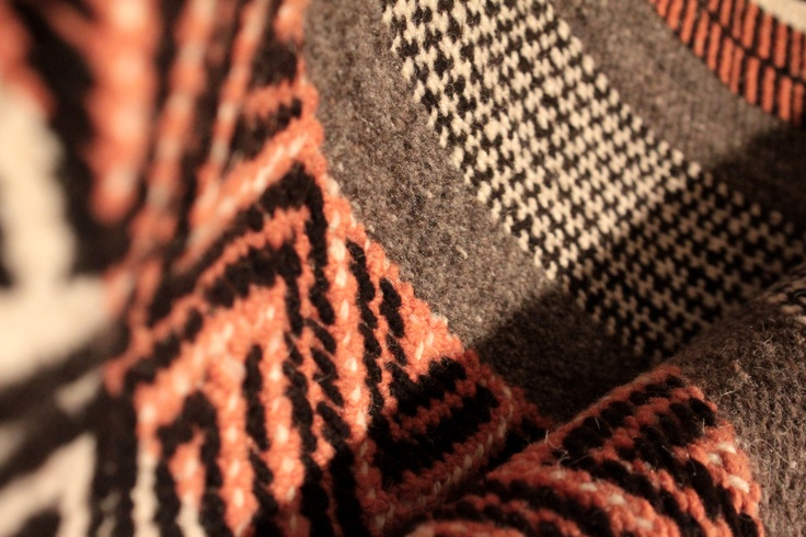 Tejido tradicional mapuche