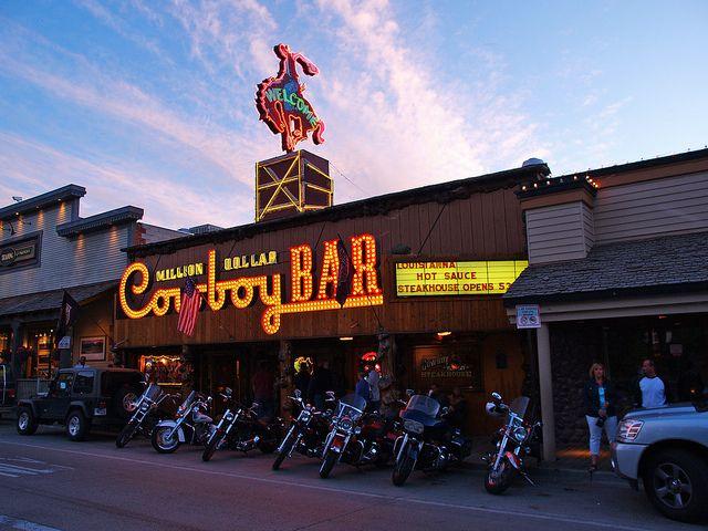 Million Dollar Cowboy Bar At Twilight; Jackson Hole, Wyoming | Flickr - Photo Sharing!