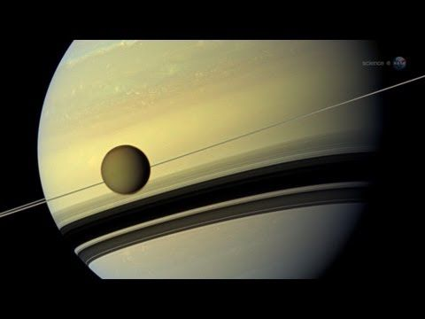Did you know that Saturn's giant Moon Titan has temperatures of 290°F below zero? Titan's surface is dotted with rivers and seas just like Earth. There is no water though! It is made of methane, ethane and other hard to freeze hydrocarbons.