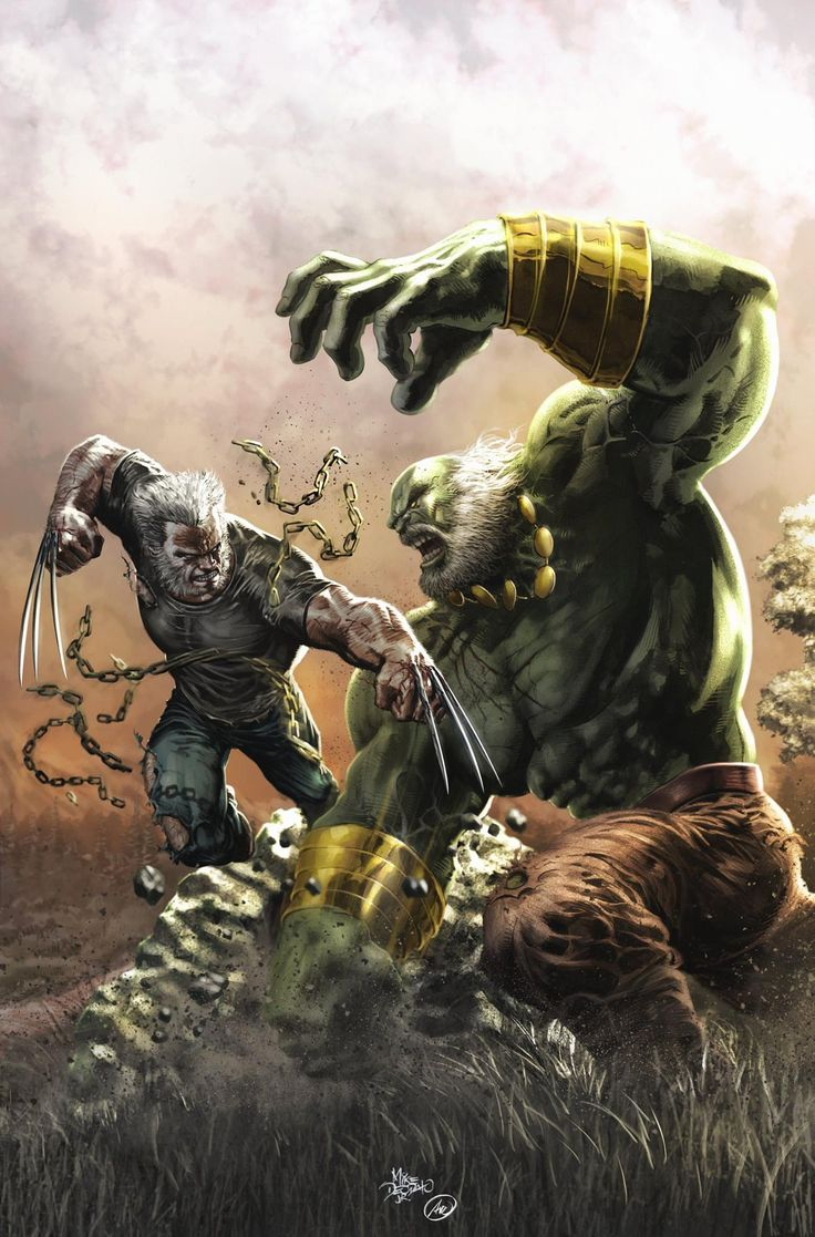 #Hulk #Fan #Art. (Old Man Logan VS Maestro #25 Cover) By: Mike Deodato & (Color) By: Ed Anderson. ÅWESOMENESS!!!™ ÅÅÅ+