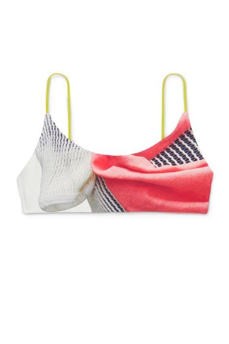 Weekday Jackie Swim Top in White