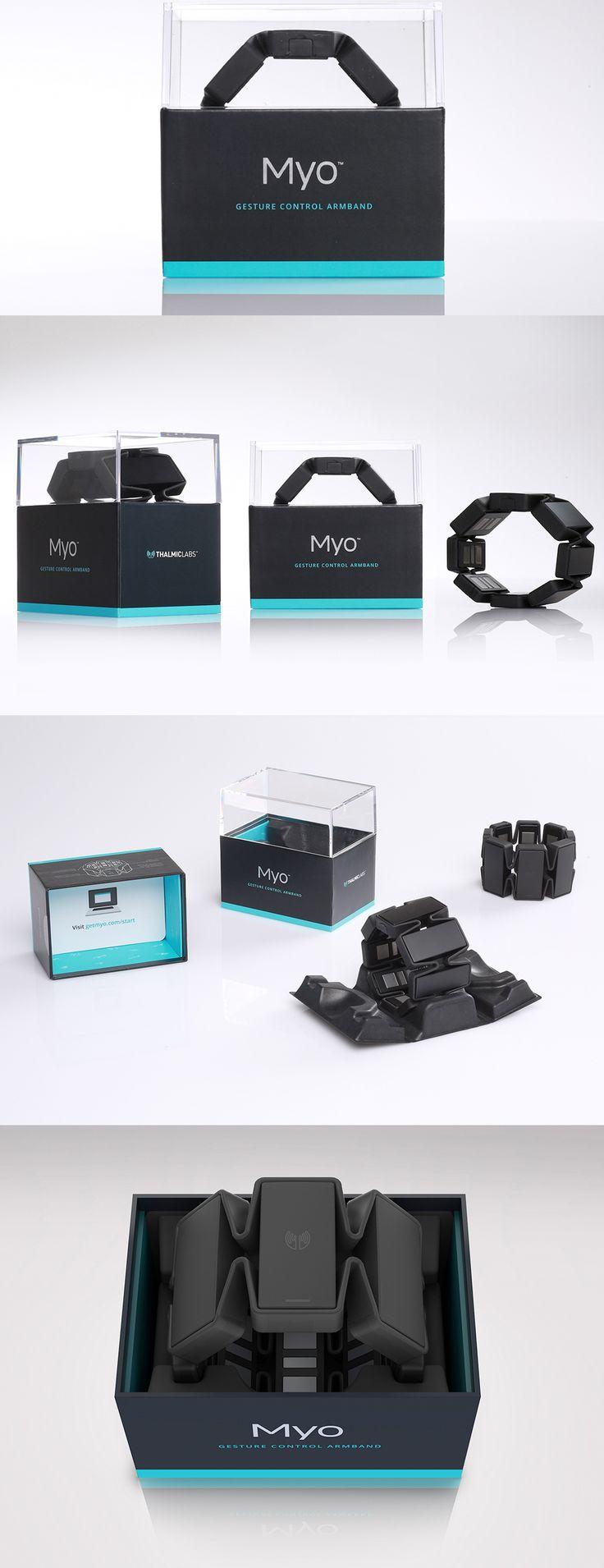 Myo Gesture Control Armband Packaging Design