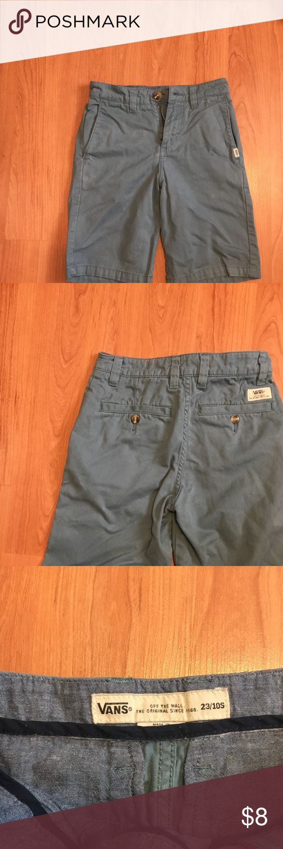 Boys size 10 Vans Skate shorts Boys dusty blue 10s skater shorts. Slight color variations add to the charm, purchased this way. Vans Bottoms Shorts