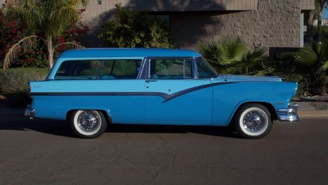 1956 ford parklane 2 door sports station wagon for 1956 ford 2 door wagon
