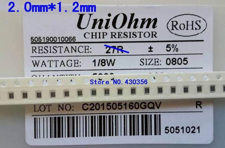 300 pcs/lot SMD Chip Resistor 0805 10 K 10 K ohm 5%