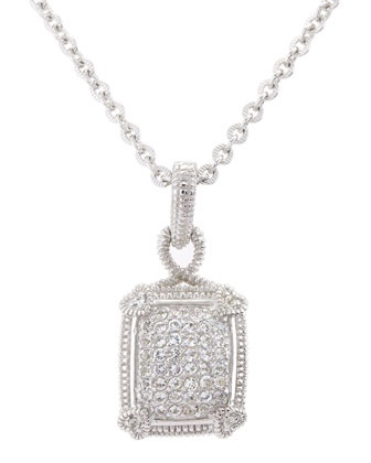 Very elegant Judith Ripka pave enhancer from Neiman Marcus Last Call!