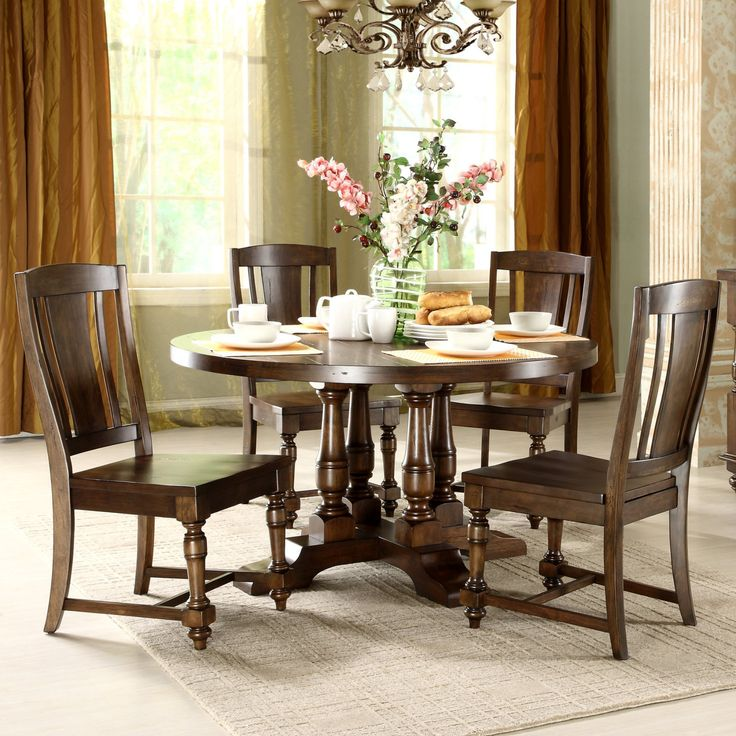Best 25 Round dining set ideas on Pinterest Chairs for  : d1229907239f98aa57eff18a53d61b81 from www.pinterest.com size 736 x 736 jpeg 105kB