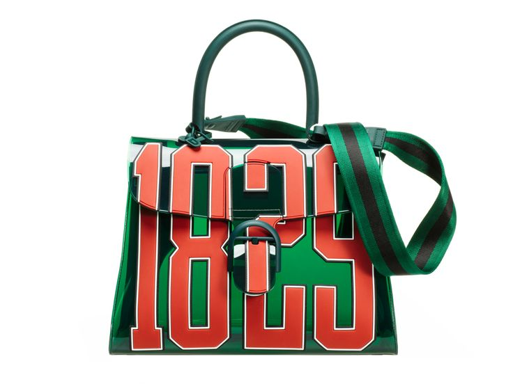 IMAGE: DELVAUX  Following the success of last year's Dark Night Tempête, Belgium luxury house Delvaux is back this year with another limited edition 'jelly' offering, this time in the iconic style of the Brillant. Dubbed the Hero, this whimsical bag is quite literally, plastic fantastic, with the