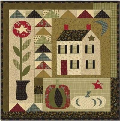 Free Shipping  HARVEST HOME Pattern by Jan di lavenderquiltsllc