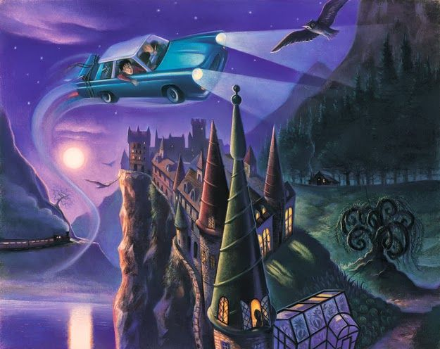 72 Best Harry Potter: Mary Grandpre Artwork Images On
