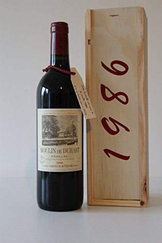Coffret 31 ans Ch. Moulin de duhart 1986 Domaines Barons de Rothschild Pauillac 4ème Grand Cru Classé: Feature: Pauillac Une idée…