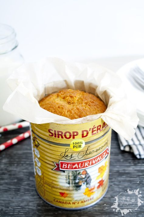 Une recette coup de coeur en ce qui me concerne!! Vraiment, j'ai tout aimé : la facilité de la préparation, la texture extra moelleuse du gâteau, sa saveur d'érable juste c'qu'il faut, la présentation originale dans sa conserve,...