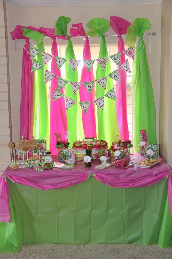 Mod Monkey Birthday Party Ideas | Photo 2 of 28 | Catch My Party