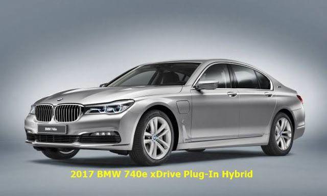 2017 New BMW 740e Plug-In Hybrid