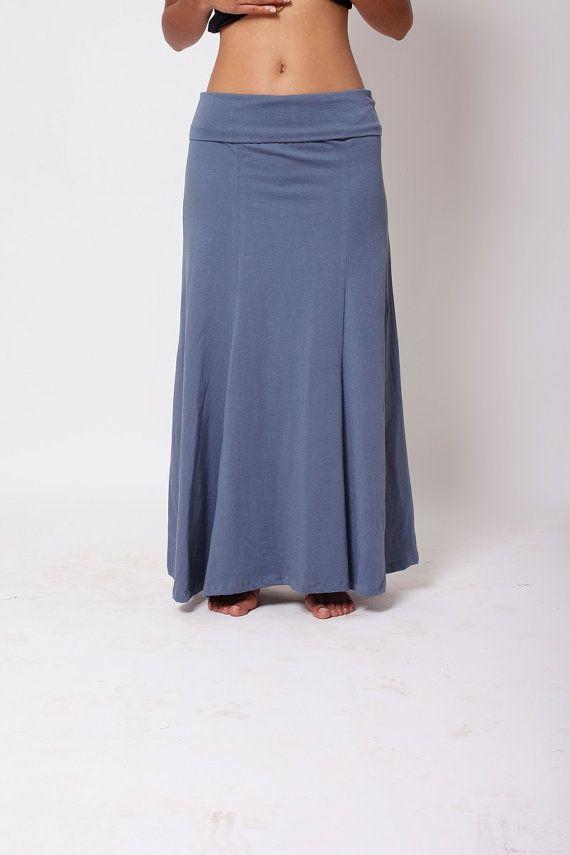 Gypsy Boho da abbigliamento gonna blu grigio di SamayaFashion