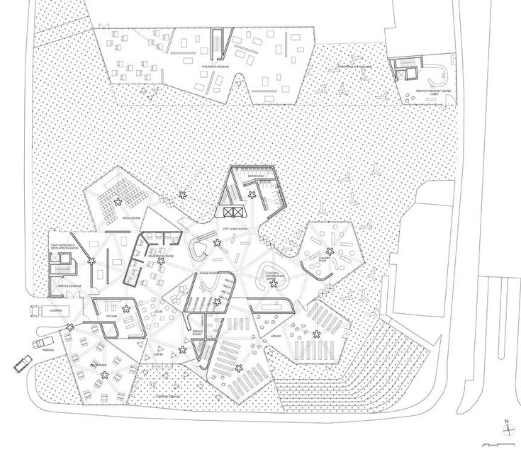 84 best poliedric plans images on pinterest architecture gallery of maribor art gallery competition entry stan allen architect 10 publicscrutiny Images