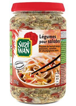 Suzi Wan Mélange pour salade Poivrons