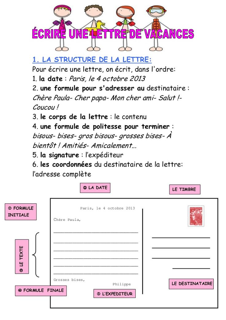 63 best fle crire une lettre images on pinterest sleep for Cuisinier francais 6 lettres
