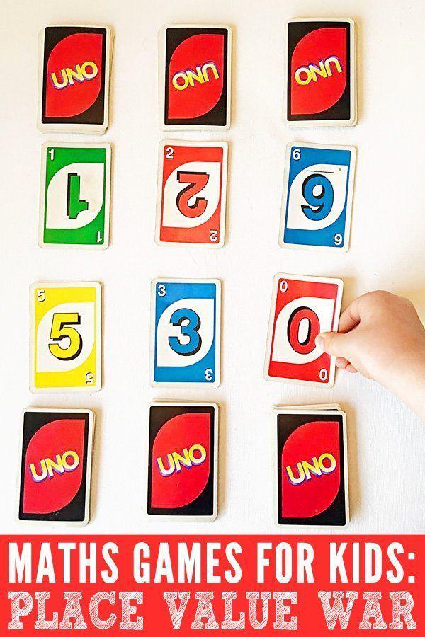 Math Games for Teaching Division