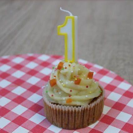 Recept voor taart voor baby's eerste verjaardag
